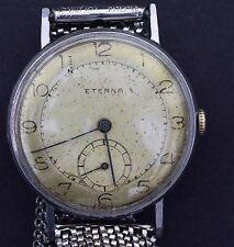 VINTAGE Eterna Hand-winding Orologio da uomo 1941-tempo di conservazione eccellente