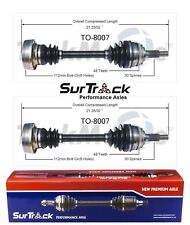 2 Front CV Axle Shafts SurTrack Set for Lexus ES300 Toyota Camry FWD 1992-1996