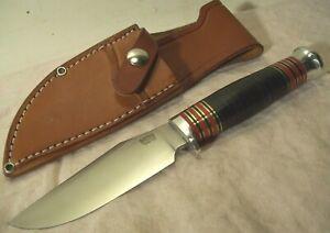 2000's~BARK RIVER~1ST PRODUCTION RUN~UNUSED~TRAILMATE II HUNTING KNIFE w/SHEATH~