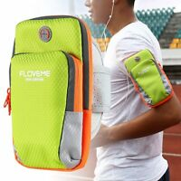 Running Arm Band Belt Bag Pouch For i Phone Zipper Multi-Layer Sports GYM Cover