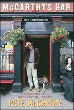 MCCARTHY'S BAR by Peter McCarthy FREE SHIPPING paperback book Ireland journey