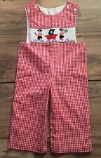 Banana Split Longall Smocked Boys Outfit Size 3 Months Pirates Halloween