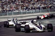 Riccardo Patrese Brabham BT50 Swiss Grand Prix 1982 Photograph 2