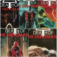Donny Cates Death of the Inhumans #1-5 Complete Series Marvel Comics 2018