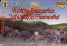 Strelets 1/72 WWI austro-hongrois Infantry in Gasmasks # M059