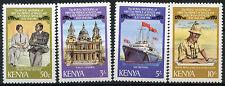 Kenya 1981 SG#207-210 Royal Wedding MNH P12 Set #R185