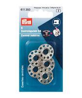 PRYM Nähmaschinenspulen 20,5x11,7mm Zentralspulen Spulen CB-Spule Metall 611350
