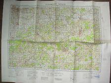 ORDNANCE SURVEY OS WWII WAR OFFICE MAP TUNBRIDGE WELLS SHEET 125