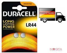 2x Original Duracell LR44 A76 V13GA Blister Alkaline Knopfzelle Knopfbatterie