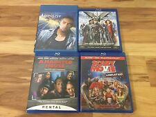Lots of 4 X-Men The Last Stand  A Haunted House  Scary Movie 6  iRobot Blu Ray