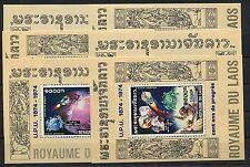 Laos Block 55/60 A postfrisch / Weltraum - UPU ............................1/515