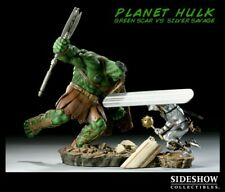 Statue : Planet Hulk: Green Scar VS Silver Savage - SIDESHOW COLLECTIBLES
