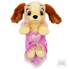 """Disney Parks Disney's Babies Lady Plush and Blanket - Small - 10"""""""