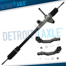 Manual Steering Rack And Pinion Outer Tie Rod Ends For 1996 2000 Honda Civic