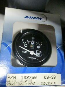 "Datcon H/D Ind.Smart Instruments 102750 Fuel Level w/Alert 52mm/2""  Black"