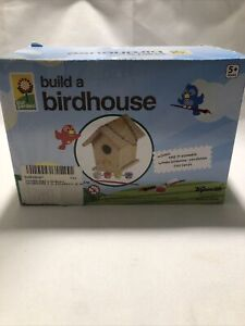 Toysmith Build & Paint A Bird House, Kit Includes Everything You Need!