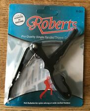 QUICK RELEASE CAPO FOR ACOUSTIC OR ELECTRIC GUITAR