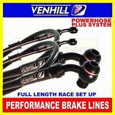 YAMAHA XV1600A WILD STAR 2000-02 VENHILL stainless steel braided brake hoses BK
