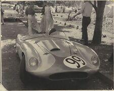 ✇ Originalfoto ca. 1960 unbek. Monoposto Rennwagen Ferrari ? Aufnahmeort Mexico