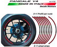 Kit adesivi profili per ruote Ducati Panigale v4