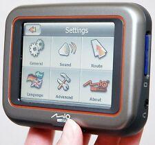 "Mio DigiWalker C220 Car Portable GPS Navigator System 3.5"" US Map TeleAtlas SD B"