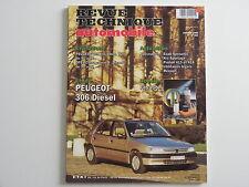 revue technique automobile RTA neuve Peugeot 306 diesel n° 569