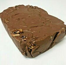 Handmade Milk Chocolate Walnut Fudge - 5 lb. Loaf