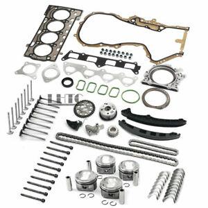 Engine Overhaul Rebuild Valves Kit For VW Audi Skoda 1.4 TSI BLG CAV CTH Ø19mm