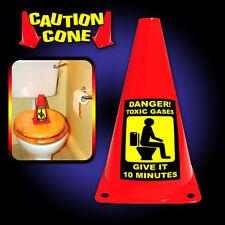 Caution Cone Danger Toxic Gases Novelty Secret Santa Christmas Joke Prank Gift