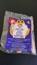 McDonalds Ty Teenie Beanie Babies 1999 #4 SPUNKY the COCKER SPANIEL