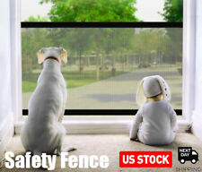 Home Kitchen Net Safety Gate Mesh Fence Portable Guard for Pets Dog Baby Indoor