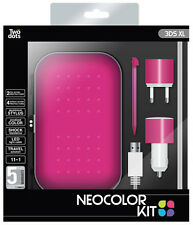 Nintendo 3DS XL Accessory Neocolor Kit 11 in 1 Color Pink IT IMPORT TWO DOTS