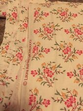 Vintage Laura Ashley Fabric 7.2 Meters Stunning Shabby Chic 💯% Cotton From 1980