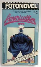 AMERICATHON 1998 Anonymous FOTONOVEL Movie TIE In FIRST PRINTING