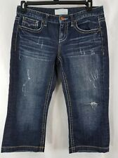 Maurices Factory distressed Capri Women's size 7/8