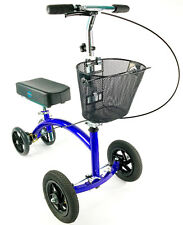 KneeRover HYBRID Knee Scooter with All Terrain Front Axle Upgrade Preowned