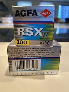 Expired Agfa RSX II Slide Film ISO 200 35mm. Exp 12/2001 - 1 roll