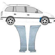 Opel Zafira A 1999-2005 Vorne Kotflügel Reparaturblech / Paar