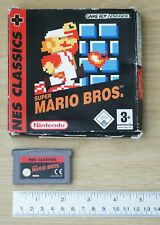 Super Mario Bros.. NES Classic pour game boy advance