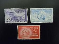 1949 #C42-C44 Universal Postal Union Set MNH OG