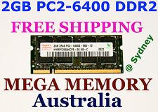 HYNIX 2GB DDR2 PC2-6400 800MHz LAPTOP Memory Ram SAVE