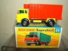 "MATCHBOX SUPERFAST  MODEL No.44c       ""GMC"" REFRIGERATOR  TRUCK    MIB"