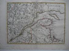 """1778 East Canada * Zatta * Quebec Nova Scotia Labrador P.E.I. 13 x 17"""" Stunning!"""