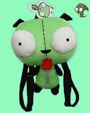 Alien Robot Invader Zim Big Eye Dog Suit Gir Backpack Bag Plush Toy Doll