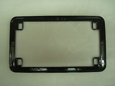 Black Motorcycle License Plate Frame