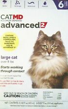 New Cat Md advanced 2 large cat over 9 lbs 6 doses