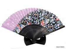 Ventaglio giapponese Japanese fan Sensu Seta Silk Bambù Bamboo Ume Prugna