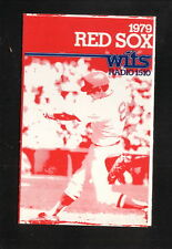 Boston Red Sox--Carl Yastrzemski--1979 Pocket Schedule--WITS/Grossman's