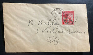 1915 Port Spain Trinidad & Tobago First Day cover Domestic Sc#B2 Red Cross Issue