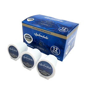 Clydesdale 100 Percent Jamaican Blue Mountain Coffee 12 K Cups Medium Roast